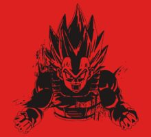 Furious Vegeta by Timmyb0y
