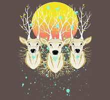 Roots To Grow and Wings To Fly (Three Deer New Dawn) Unisex T-Shirt