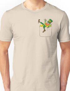 Lucky Leprechaun In My Pocket Unisex T-Shirt