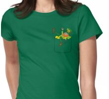 Lucky Leprechaun In My Pocket Womens Fitted T-Shirt