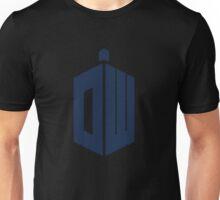 "Pixel Doctor Who ""DW"" Logo Unisex T-Shirt"