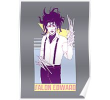 Salon Edward Poster