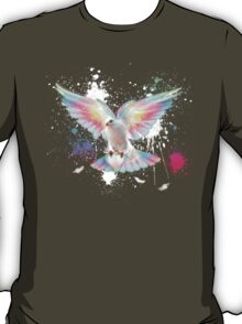 Beauty Is A Light In The Heart - (Neon Wings Series IV) T-Shirt