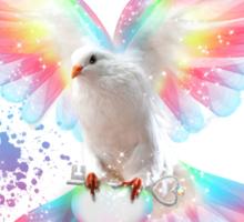 Beauty Is A Light In The Heart - (Neon Wings Series IV) Sticker