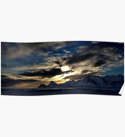 East Coast Sunset Poster