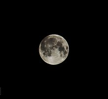 Super Moon  by CRPhotograpy