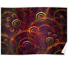 Artistic Abstract Multicolored Poster