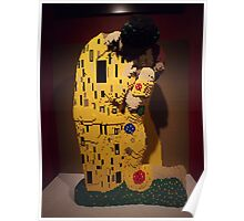 "Lego, "" The Kiss"", Art of the Brick Exhibition, Nathan Sawaya, Artist, Discovery Times Square, New York City   Poster"