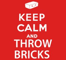 Keep Calm And Throw Bricks - The Last of Us by thedovahmaster