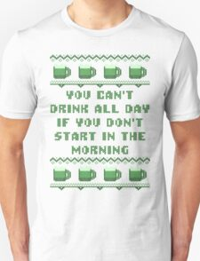 You Can't Drink All Day St Patricks Day T-Shirt T-Shirt