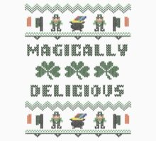 Magically Delicious St Patricks Day Ugly Sweater by xdurango