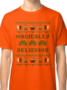 Magically Delicious St Patricks Day Ugly Sweater Classic T-Shirt