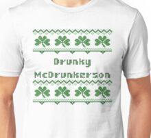 Drunky McDrunkerson Irish Sweater St Patricks Day  Unisex T-Shirt