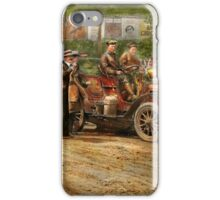 Car - Race - The end of a long journey 1906 iPhone Case/Skin