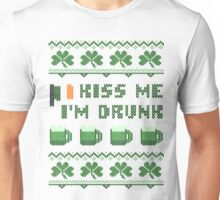 Kiss Me I'm Drunk St Patricks Day T Shirt Unisex T-Shirt