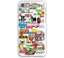 Nerdy Sticker Bomb Phone Case iPhone Case/Skin
