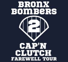 Bronx Bombers Derek Jeter Captain Clutch Yankees Retirement T Shirt by xdurango