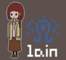 Serial Experiments Lain Design by DanceCommander