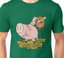 Sir Hawk, Captain of Scraps Disposal Unisex T-Shirt