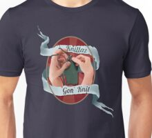 Knittaz gon' knit.  Unisex T-Shirt