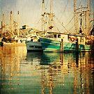 Harbor Boats by Jonicool