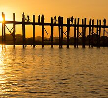 sunset by Anne Scantlebury