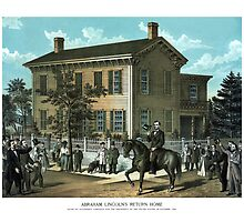 Abraham Lincoln's Return Home by warishellstore