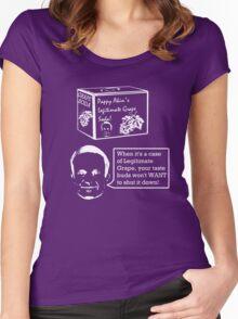 Pappy Akin's Legitimate Grape Soda Women's Fitted Scoop T-Shirt
