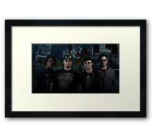 4817 Rap Crew Framed Print
