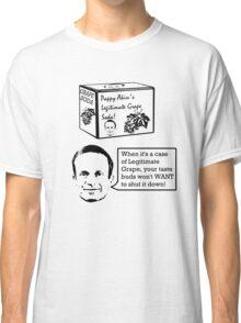 Pappy Akin's Legitimate Grape Soda (dark print) Classic T-Shirt