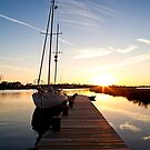Sailboat Pier by Jonicool
