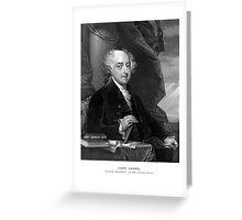 President John Adams Greeting Card