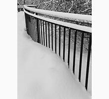 Snow Standing Fence Unisex T-Shirt