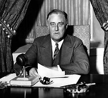 President Franklin Roosevelt by warishellstore