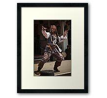 Adventures of Capt. Jack Framed Print