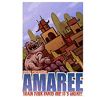 Amaree Location Postcard Photographic Print