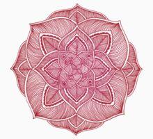 Rose Mandala Baby Tee