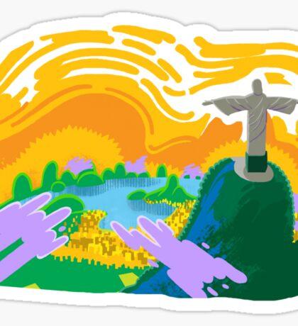 Beautiful Brasil Sticker