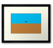 Like a lonely tree Framed Print