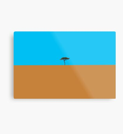 Like a lonely tree Metal Print