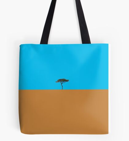 Like a lonely tree Tote Bag