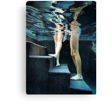 Underwater Steps Canvas Print