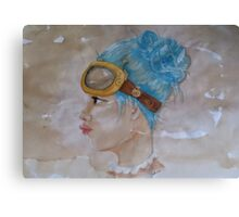 Tea Stained Steampunk Canvas Print