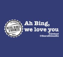 Ah Bing, we love you... by sportsgeek