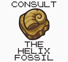 Consult The Almighty Helix Fossil by saintbrodie