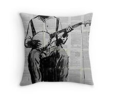 come along now Throw Pillow