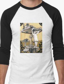 Alice and the Caterpillar Men's Baseball ¾ T-Shirt