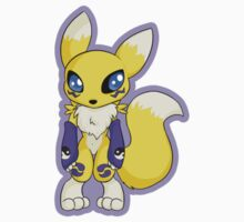 Chibi Renamon by Shiaemi