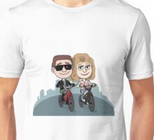 T-800 & Sarah Connor Unisex T-Shirt