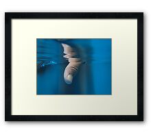 Abstract Thumb Framed Print